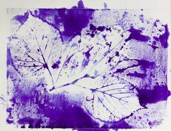 Folia Mystica - Impression manuelle sur papier- Ka L-O-K