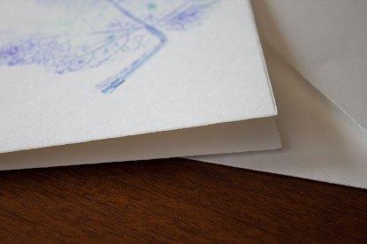 Folia Mystica - Doppelkarte mit Büttenrand