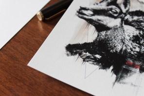 Carte de la série HelvEdition de Ka L-O-K   Graphic Arts
