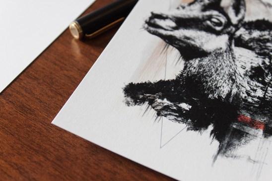 Carte de la série HelvEdition de Ka L-O-K | Graphic Arts