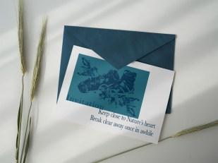 Einladungskarte – Ka L-O-K | Graphic Arts