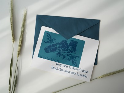 Carte d'invitation – Ka L-O-K   Graphic Arts