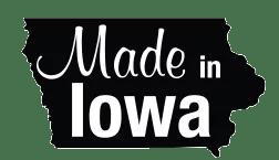 Made in Kalona, Iowa logo