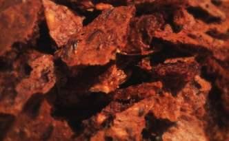 Rugbrødschips med ekstra proteiner