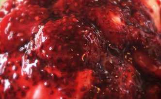 Jordbær-chia topping til skyr