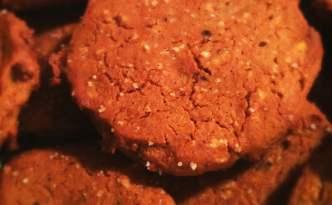 Mandel-cookies (glutenfri, uden smør, uden tilsat sukker - med smag)