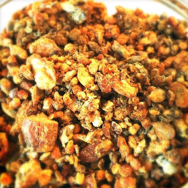 Proteinrig nødde-crunch