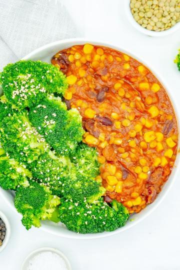 chili sin carne -Kalorienarme Rezepte