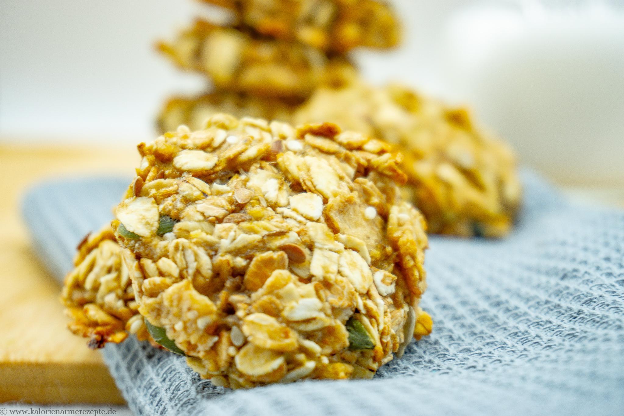 Haferflocken Kekse - Kalorienarme Rezepte