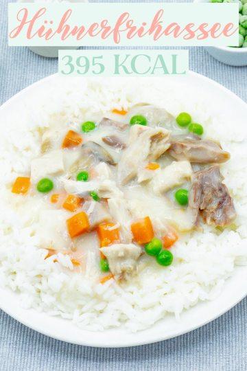 Hühnerfrikassee - Kalorienarme Rezepte