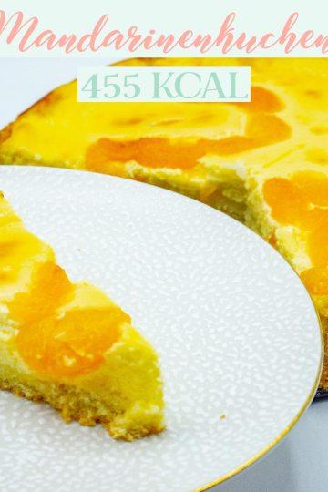 Kalorienarme Rezepte - Mandarinenkuchen