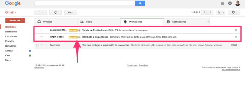 quitar-publicidad-gmail