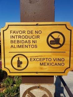 Letrero de Hacienda de Guadalupe