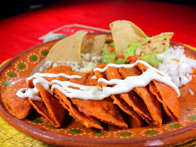 enchiladas potosinas