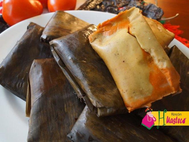 Tamales huastecos