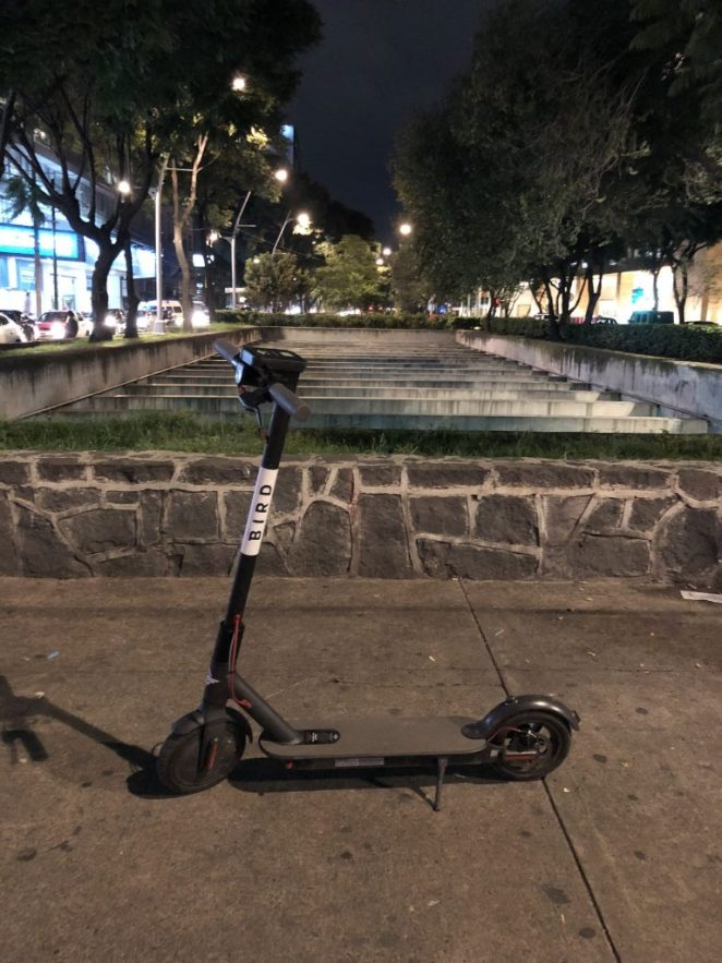 bird scooters en mexico