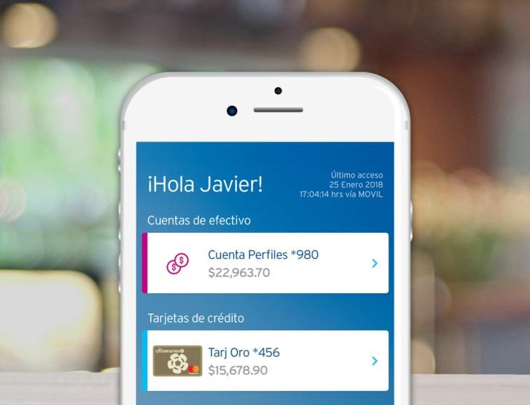 App Citibanamex Móvil