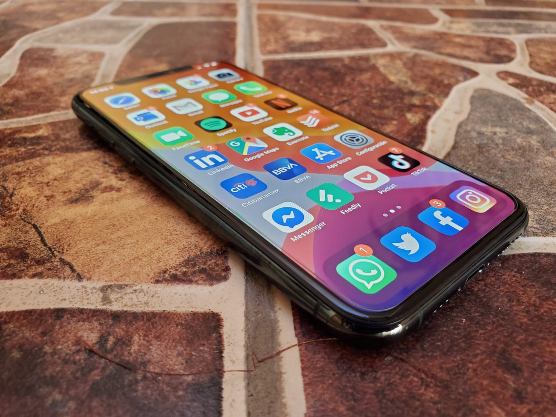Brillo pantalla oled iPhone 11 Pro