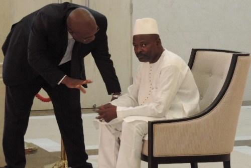 Le PM Saïd Fofana et Naby Youssouf Kiridi Bangoura