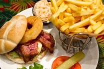 French burger de luxe