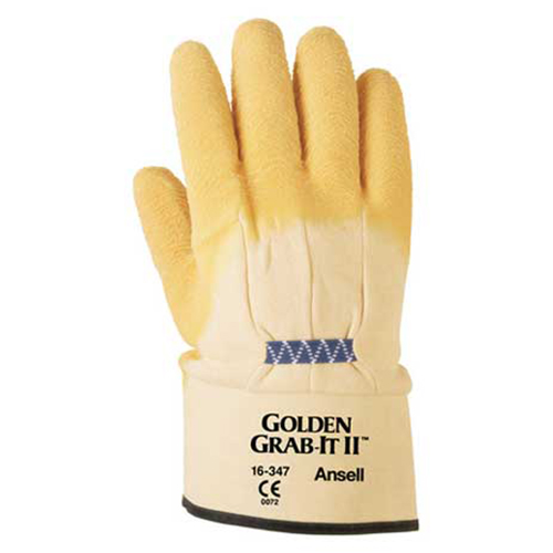 Distributor Ansell 16-347 Golden Grab-It II Heavy Multi Purpose Glove