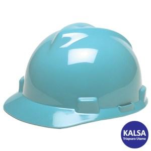 MSA Staz On V-Gard Caps Light Blue Head Protection