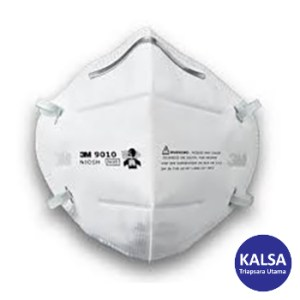 Respirator 9010 3M Flat Folded Particulate Respiratory Protection