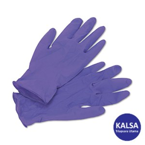 Kimberly Clark 5060201 Size M KC Purple Nitrile Extra Exam Gloves