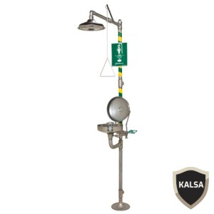 Haws 8330 Combination Corrosion Resistant Shower and Eye or Face Wash