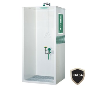 Haws 8605WC Booth Enclosed Shower and Eye or Face Wash