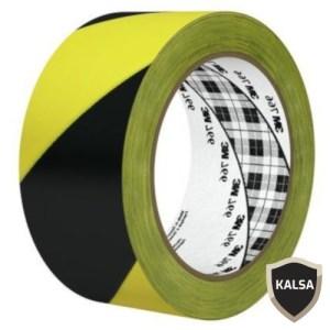 Hazard Marking Tape Black Yellow 3M 766 Stripe