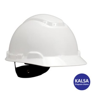 3M H-701R White 4 Point Ratchet Suspension Hard Hat Head Protection