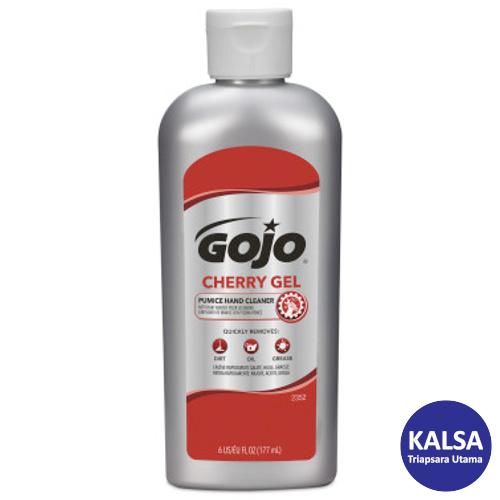 Gojo 2352-15 Cherry Gel Pumice Heavy Duty Hand Cleaner