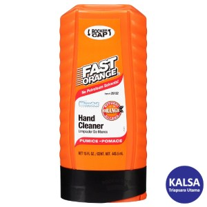 Permatex 25122 Fast Orange Fine Pumice Lotion Hand Cleaner
