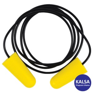 Tuffsafe TFF-958-1640K Yellow Disposable Ear Plug
