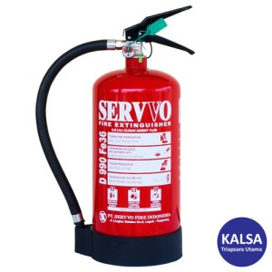 Servvo D 990 FE-36 Portable Clean Agent FE-36 Fire Extinguisher