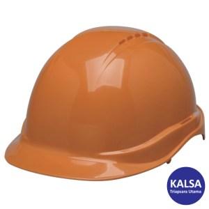 Elvex SC-100-4RORG Orange Volt Non-Vented Head Protection