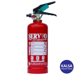 Servvo P100 ABC90 ABC Dry Chemical Powder Fire Extinguisher