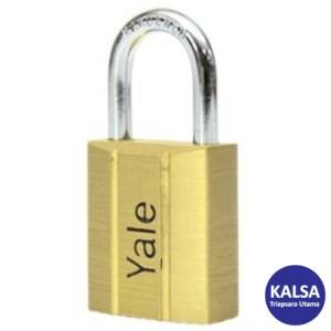 Yale V140.50 V-Series Solid Brass Shackle 50 mm Security Padlock