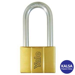 Yale V140.60LS64 V-Series Solid Brass Long Shackle 60 mm Security Padlock