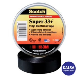 3M Scotch 33+SUPER-3/4X20FT Vinyl Electrical Tape