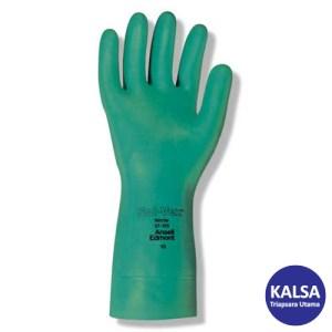 Ansell Sol-Vex II 37-646 Nitrile Glove