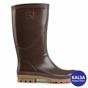 Safety Shoes Orca Brown AP Boots Agricultural and Plantation
