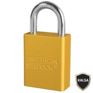 American Lock A1105YLW Safety Lockout Padlock