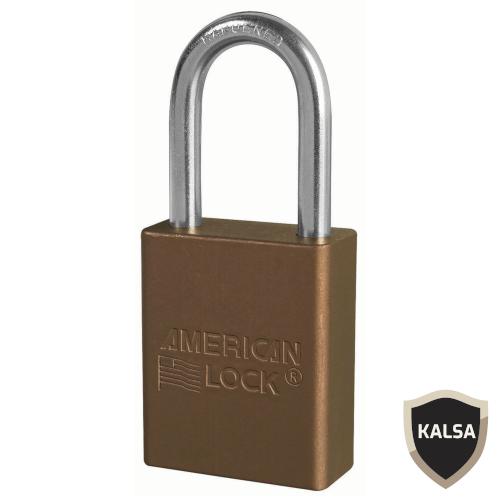 Distributor American Lock A1166BRN Safety Lockout Padlock, Jual American Lock A1166BRN Safety Lockout Padlock, Harga American Lock A1166BRN Safety Lockout Padlock