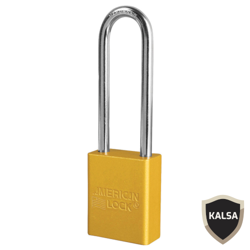 Distributor American Lock A1167YLW Safety Lockout Padlock, Jual American Lock A1167YLW Safety Lockout Padlock, Harga American Lock A1167YLW Safety Lockout Padlock