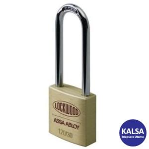 Lockwood 120/30/150/DP Heavy Duty Solid Brass 30 mm Security Padlock