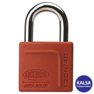 Lockwood 120/40/125/DP Heavy Duty Solid Brass 40 mm Security Padlock