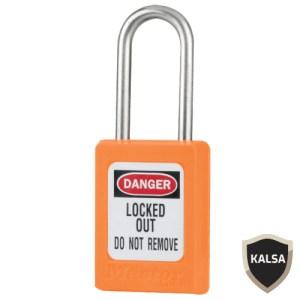 Master Lock S33KAORJ Keyed Alike Zenex Snap Lock Safety Padlock