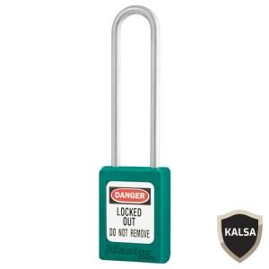 Master Lock S33LTTEAL Keyed Different Zenex Snap Lock Safety Padlock